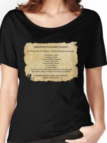 Directions to monkey island Women's Relaxed Fit T-Shirt