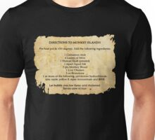 Directions to monkey island Unisex T-Shirt