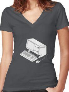 Apple Lisa Women's Fitted V-Neck T-Shirt