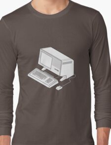 Apple Lisa/Mac XL Long Sleeve T-Shirt
