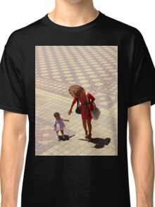 Let's go! The World is Waiting... Classic T-Shirt