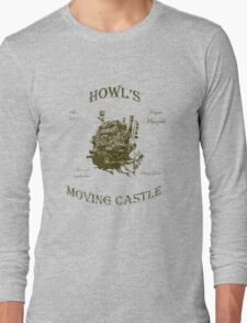 Howl's Moving Castle 3 Long Sleeve T-Shirt