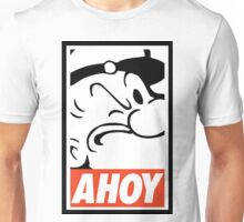 Ahoy Popeye Unisex T-Shirt