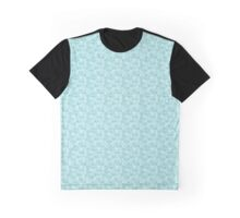 Fish Hearts on a mint background Graphic T-Shirt