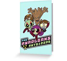 Powerpuff Guardians Greeting Card