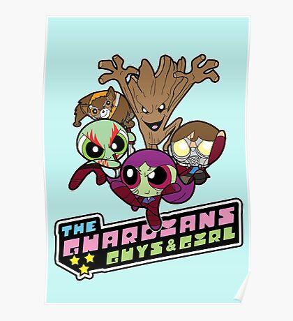 Powerpuff Guardians Poster
