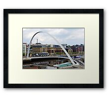 A Bridge For 2000 Framed Print
