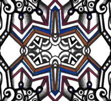 SYMMETRY - Design 015 (Color) Sticker