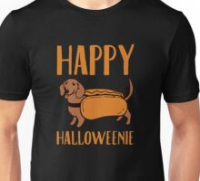 Happy halloweenie Unisex T-Shirt