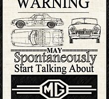 Warning MG Owner by Sharon Poulton