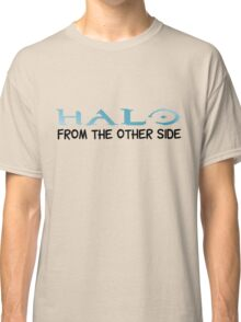 Halo Video Games Adele Hello Music Quotes Funny Sarcastic Classic T-Shirt