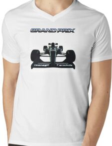 Teenage Fanclub Grand Prix Mens V-Neck T-Shirt