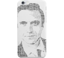 Raúl Esparza Typography iPhone Case/Skin