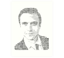 Raúl Esparza Typography Art Print