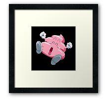Arale Poop Framed Print