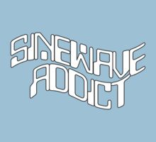 Sine Wave Addict Kids Clothes
