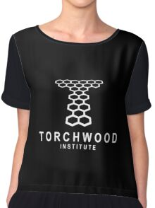 Torchwood Institute logo Chiffon Top