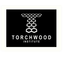 Torchwood Institute logo Art Print