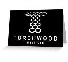 Torchwood Institute logo Greeting Card