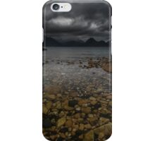 Storm clouds over Elgol iPhone Case/Skin
