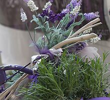 bicycle with lavender by spetenfia