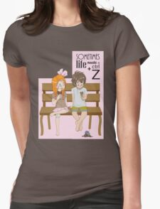 Ctrl + Z - The Ice Cream Womens Fitted T-Shirt