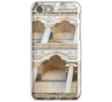 Decorative facade with columns, arches and portico. iPhone Case/Skin