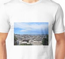 Aerial view of Genova Unisex T-Shirt
