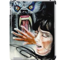 Werewolf Attacking  iPad Case/Skin