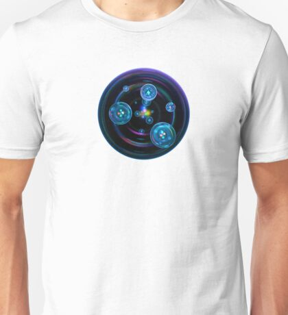 Abstract Space Bubbles Unisex T-Shirt