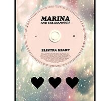 Marina and the Diamonds: ELECTRA HEART PASTEL GALAXY by necrophile