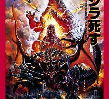 Godzilla Vs Destroyer by zeebigfella
