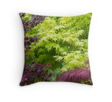 maple in spring Throw Pillow