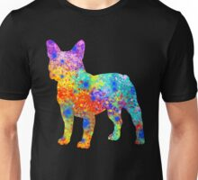 French Bulldog Watercolor Art Unisex T-Shirt