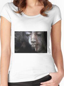Serenity 01 Women's Fitted Scoop T-Shirt