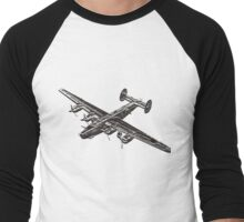 b-24 liberator Men's Baseball ¾ T-Shirt