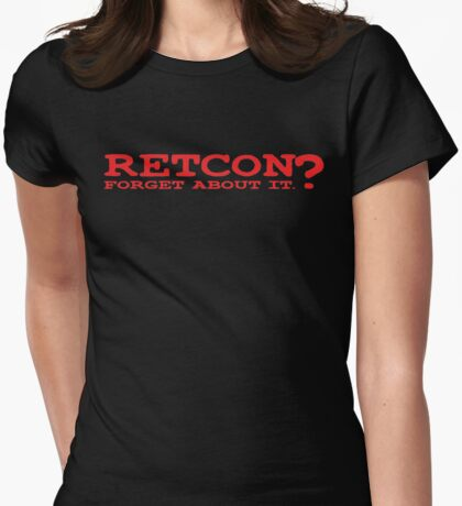 RETCON? Womens Fitted T-Shirt