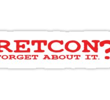 RETCON? Sticker
