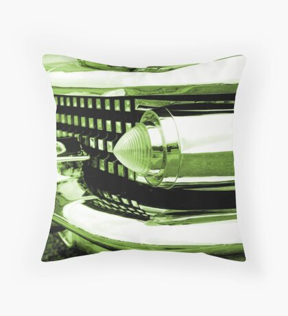 Colours - green Throw Pillow