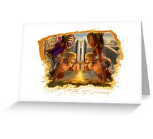 Clash of Clans - Barbarian Greeting Card