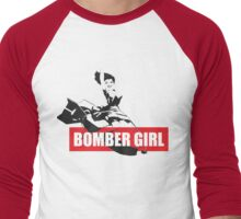 bomb girls B-24 Men's Baseball ¾ T-Shirt