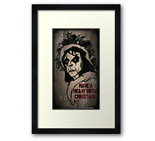 Have a Heavy Metal Christmas Framed Print