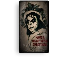 Have a Heavy Metal Christmas Canvas Print
