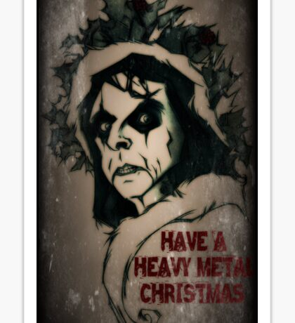 Have a Heavy Metal Christmas Sticker