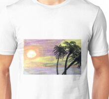 Highlighted by Sunset Unisex T-Shirt