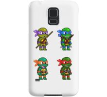 Teenage Mutant Ninja Turtles Pixels Samsung Galaxy Case/Skin