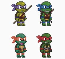 Teenage Mutant Ninja Turtles Pixels Kids Clothes