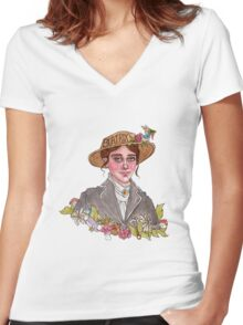 Beatrix Potter Women's Fitted V-Neck T-Shirt