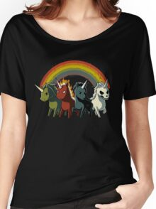 Four Unicorns of the Apocalypse Women's Relaxed Fit T-Shirt