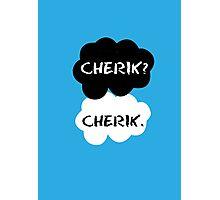 Cherik - TFIOS Photographic Print
